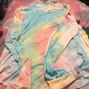 Tie Dye long sleeve